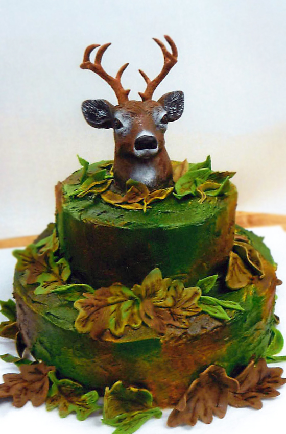 Cookie Cakes With Deer