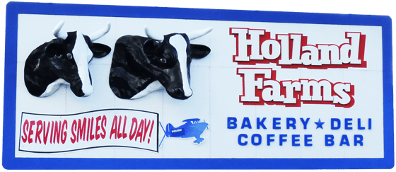 holland farms billboard