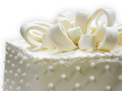 holland farms wedding cake