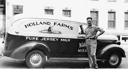 john piersmas milk truck