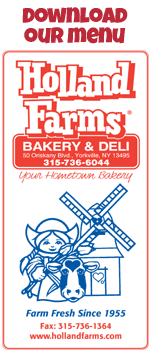 holland farms menu